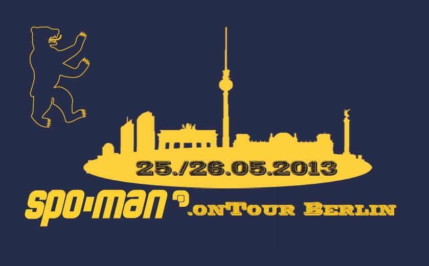 SPO-MAN.onTour Berlin einfacher Banner