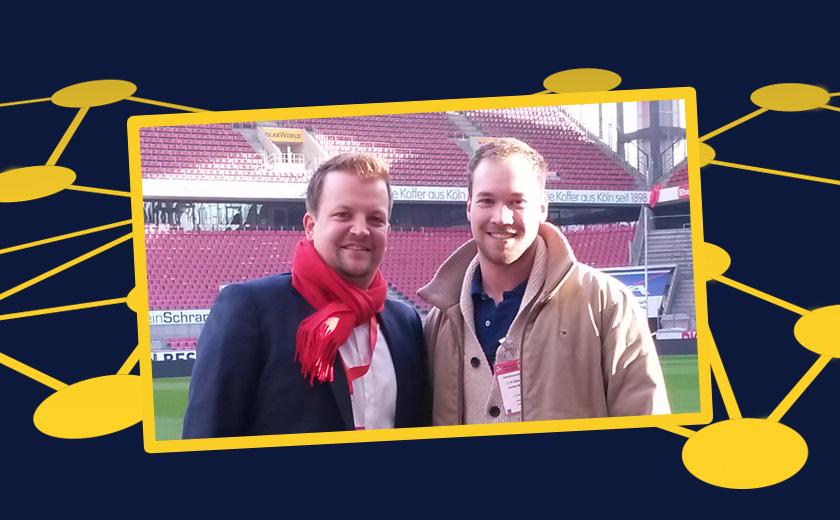 Swen Huder und Lars Wohlberg
