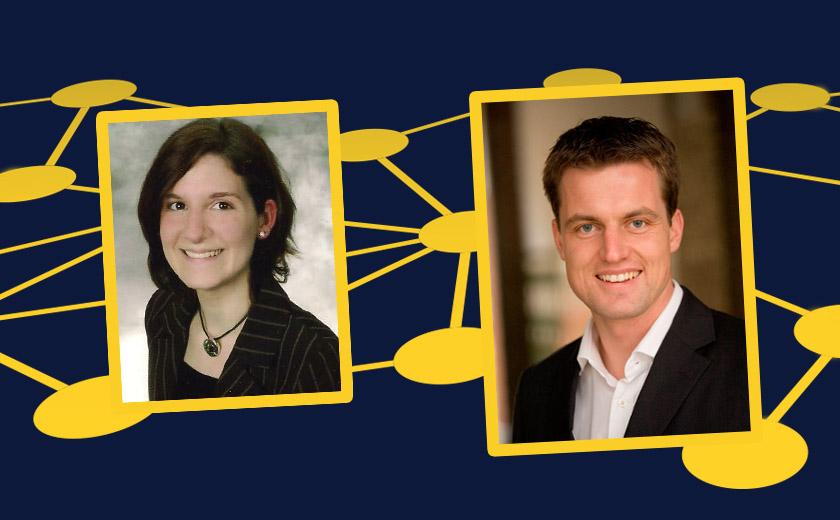 Mareike Lukas und Mark Schober