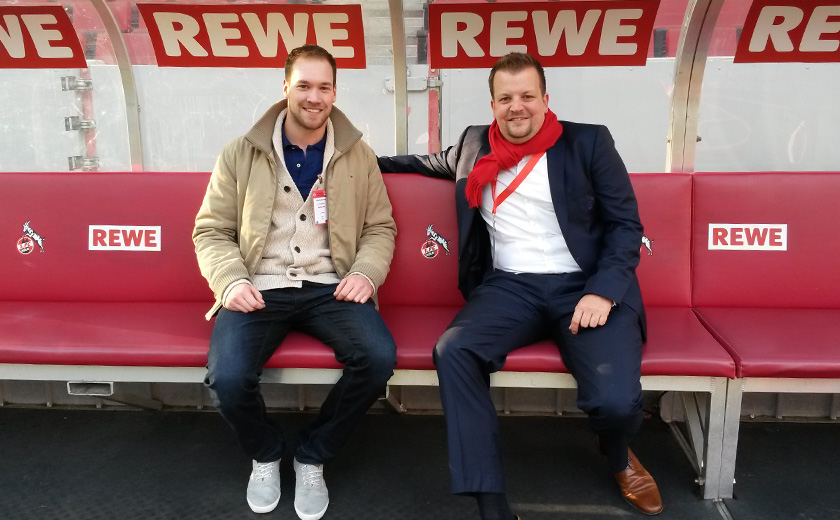 Lars Wohlberg und Swen Huder