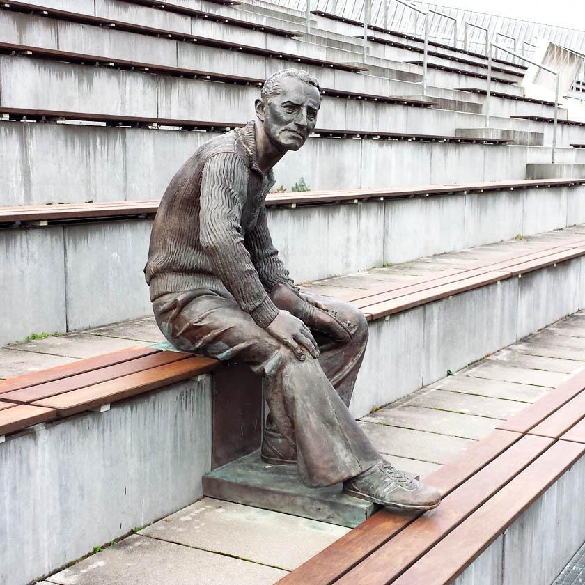 Adi Dassler Skulptur